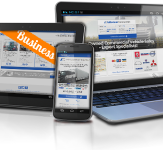 Vehicle Sales Website for Addlestone Commercials