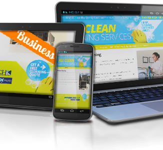 Small Business Website for All Clean Cleaning