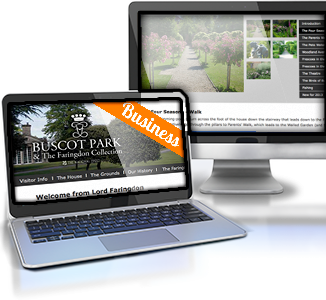 Tourist Destination Website for Buscot Park