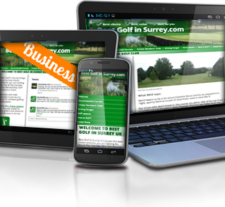 Responsive Design for Best Golf In Surrey