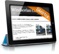 Microsite for Coach Hire - Windsorian Coaches